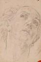 Guido RENI, attribué à - Tête d'homme regardant le ciel