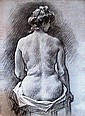 Louis Béroud:  Femme nue de dos