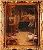 Jeanne-Louise GALIBERT. L'atelier du peintre