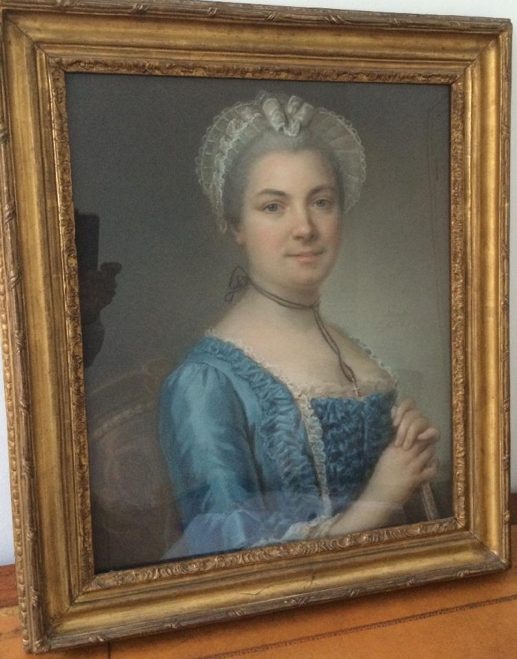 Simon-Bernard LENOIR (1729 - 1791) Portrait de