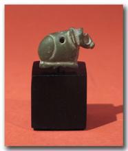 Sumerian Amulet of a Reclining Calf, c. 2500 B.C.