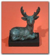 Anatolian Bronze Stag, Early First Millennium B.C.