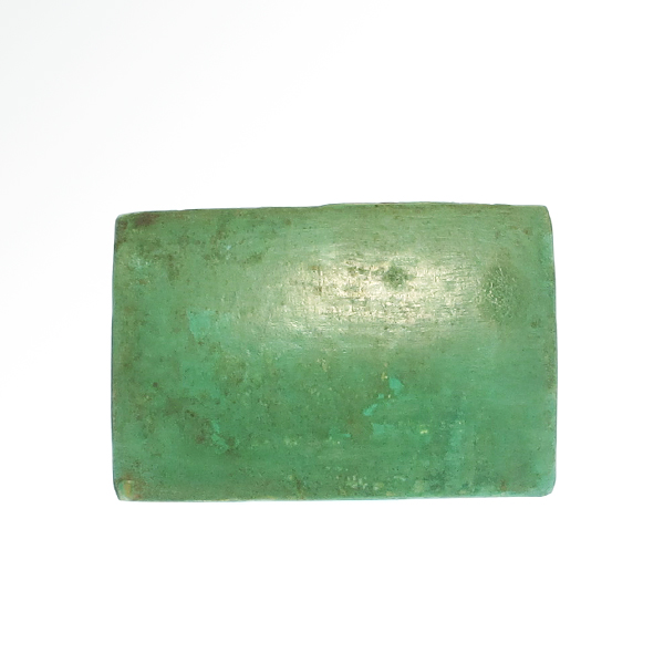 Egyptian turquoise glazed faience tile with maker mark 3rd for Faience turquoise