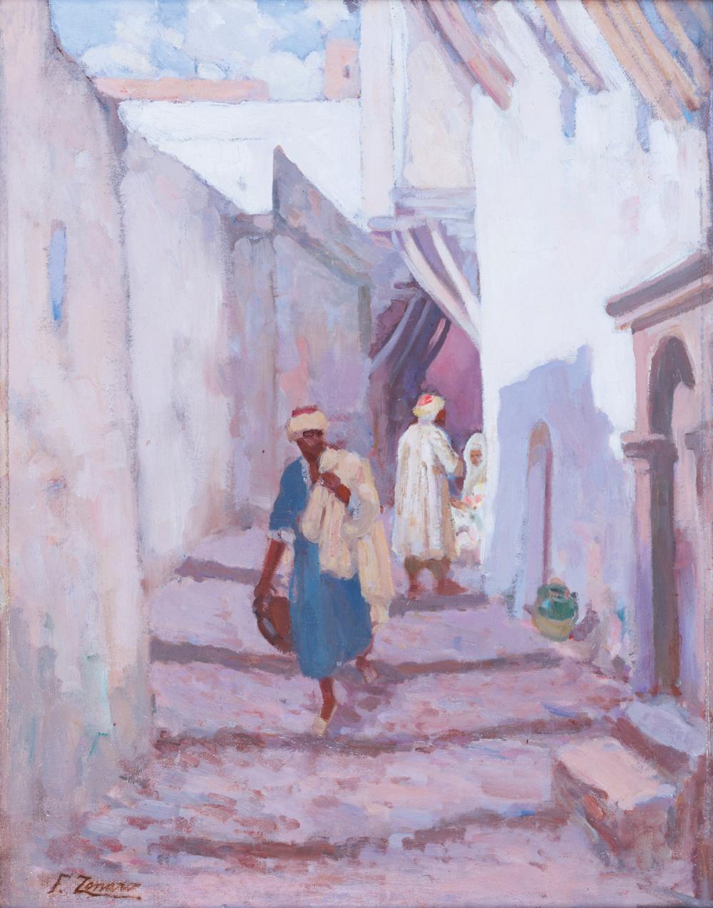 Faustino Zonaro 1913 Turkish Islamic Orientalist