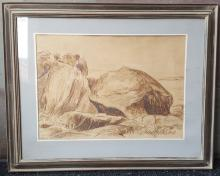 A Framed Painting