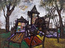 Manu Parekh 1939, Untitled (Banaras)