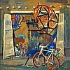 Syed Haider  Raza 1922 - 2016  Cycle Shop, Sayed Haider Raza, $0