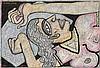 Jogen  Chowdhury 1939  Woman (exposing her teeth), Jogen Chowdhury, $0