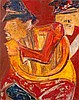 Krishen Khanna 1925  Untitled (Bandwallahs), Krishen Khanna, $0