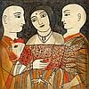 Badri  Narayan 1929 - 2013  Kukkuta Jataka,  Badri Narayan, $0