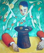 Miro Biały (b. 1966), Insane money, 2012