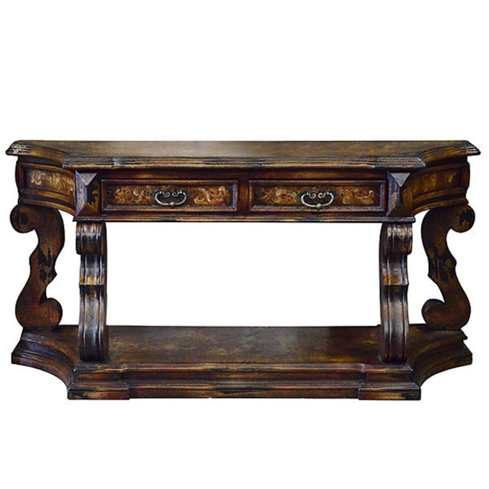 Inca Grand Console Table