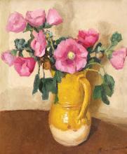 Alexandru Moscu, Pottery with flowers