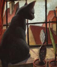 Carol Hübner, Le Chat Noir