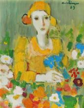 Augustin Costinescu, Portrait of a Young Woman