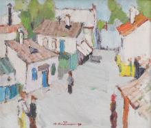 Augustin Costinescu, Old Street in Tulcea