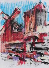 Augustin Costinescu, Moulin Rouge
