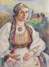 Carol Hübner, Saxon woman