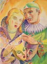 Carol Hübner, Pierrot and Colombina