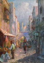 Samuel Bogdanovici, Street in the old city