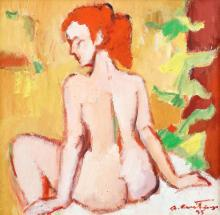 Augustin Costinescu, Nude with the back
