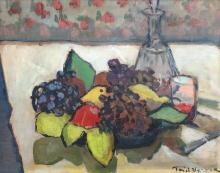 Paul Verona, Still life with fruits