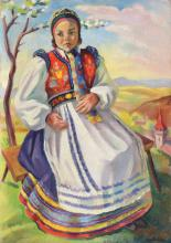Carol Hübner, Little Transylvanian Saxon Girl