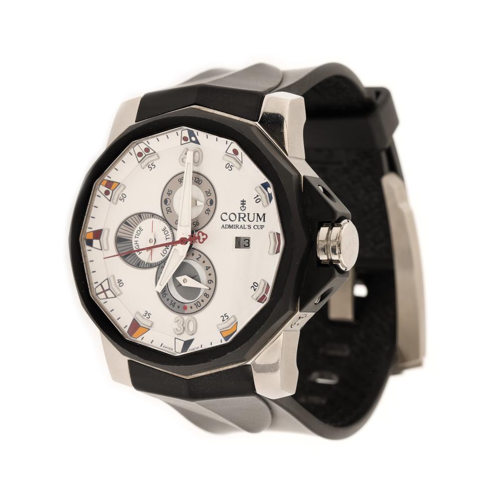 Corum Admiral's Cup Seafender Tides 48 wristwatch, men