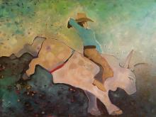 Confetti Bull Rider