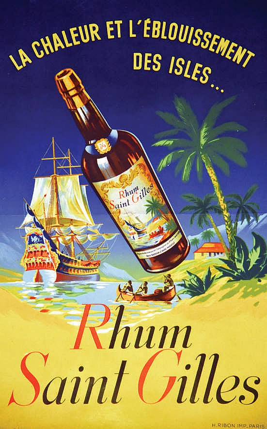 Rhum saint gilles vers 1950 marseille bouches du rh ne for Bouche du rhon