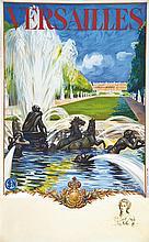 Versailles Le Château avec un portrait de en remarque 1936