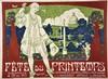 Paris Fête du Printemps - Commité des Fêtes & de la Rive Gauche &Association; Générale des Etudiants     1913, Joanny Durand, €600