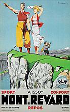 Mont Revard vers 1930