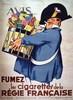 Fumez les cigarettes de la Régie Française     vers 1930, Rene Vincent, €320