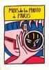 Mois de la photos à Paris 9/120. Affiche signée par François Boisrond     1988, François Boisrond, €320