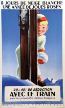 8 Jours de Neige Blanche avec le Train 1956
