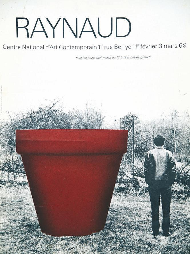 Raynaud centre national d 39 art contemporain paris 1969 for Poster contemporain