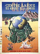 Centre Laïque des Auberges de Jeunesse . 1942 . Dufournet Edition Paris