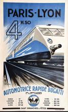 Bugatti Paris Lyon édition de 1979 par la Vie du Rail