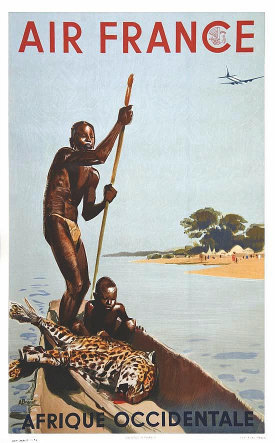 BRENET ALBERT Afrique Occidentale Française 1952