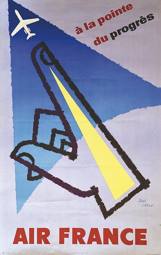 CARLU JEAN A la Pointe du Progrès 1958