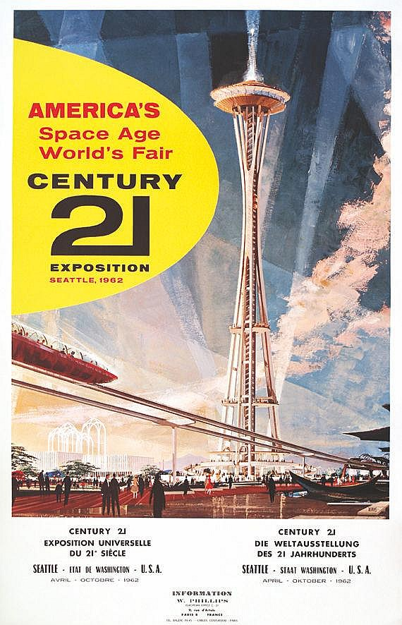 DUFF EARLE  America's Space Age - Seatle 1962     1962