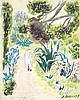 CAVAILLES JULES  Consulat Américain Villa Mustapha Reis pastel signé du tampon J Cavailles     vers 1950, Jean Jules-Louis Cavailles, €450