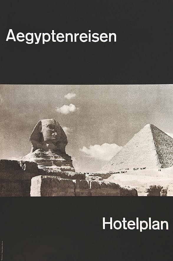 RIESTERER P.  Aegyptenreisern Hotelplan     vers 1950