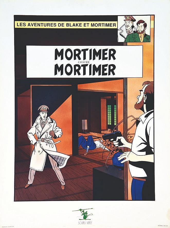 Blake & Mortimer vers 1980