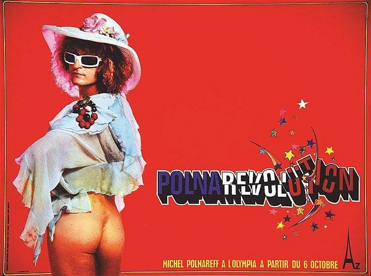 PHOTO: TONY FRANK  Polnarévolution - Michel Polnareff à L'Olympia     1973