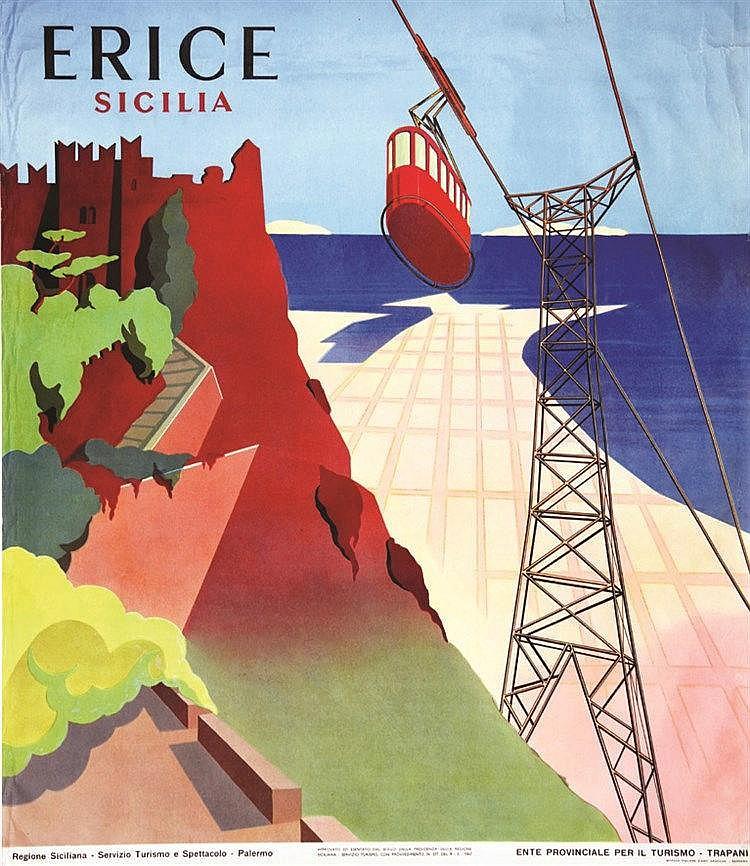 Erice - Sicilia     1957