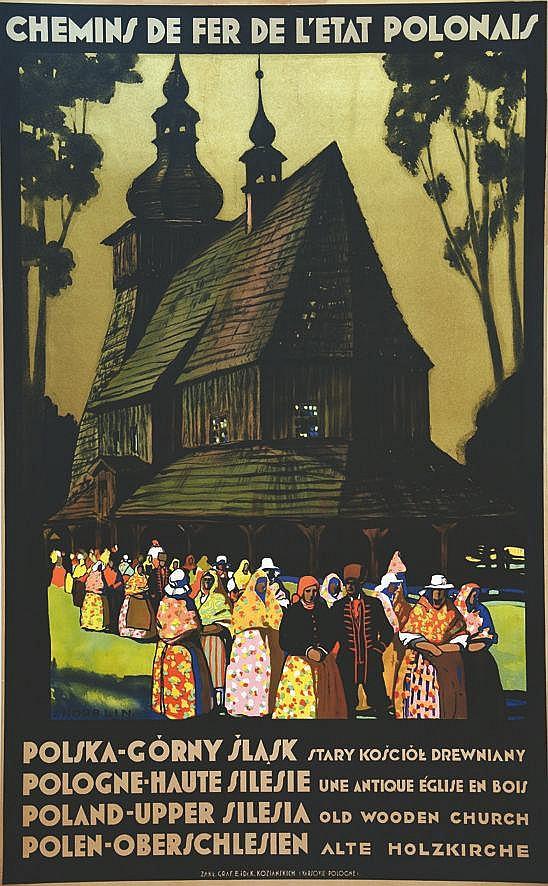 NORBLIN S.  Pologne Haute Silesie     vers 1930