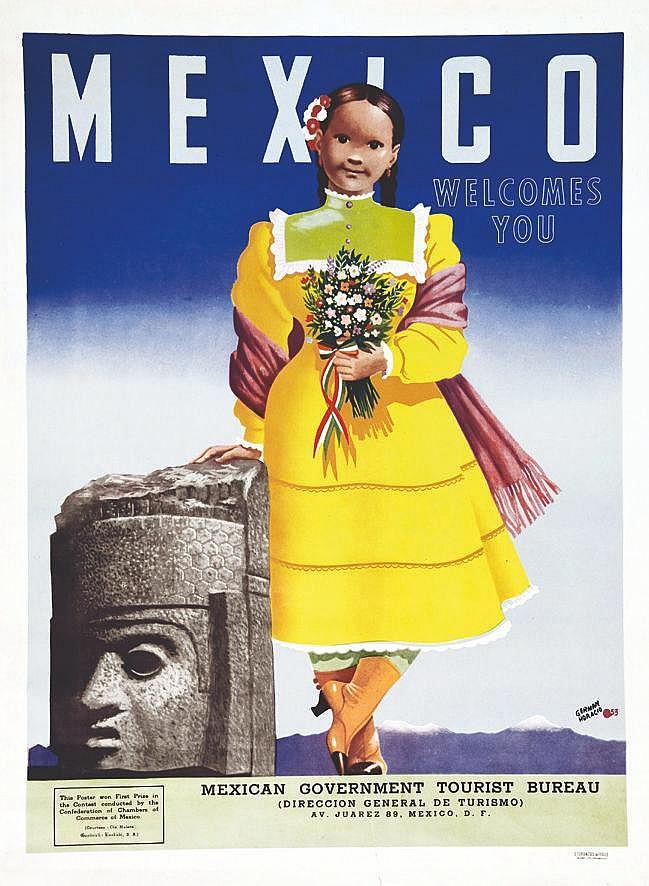 GERMAN HORACIO  Mexico Welcomes you     1953