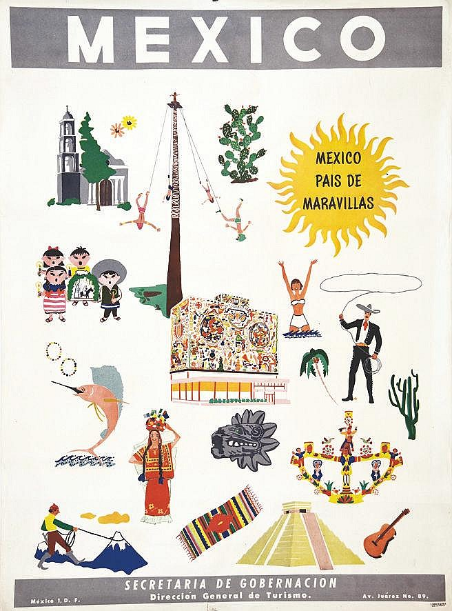 Mexico Pais de Maravillas     vers 1950
